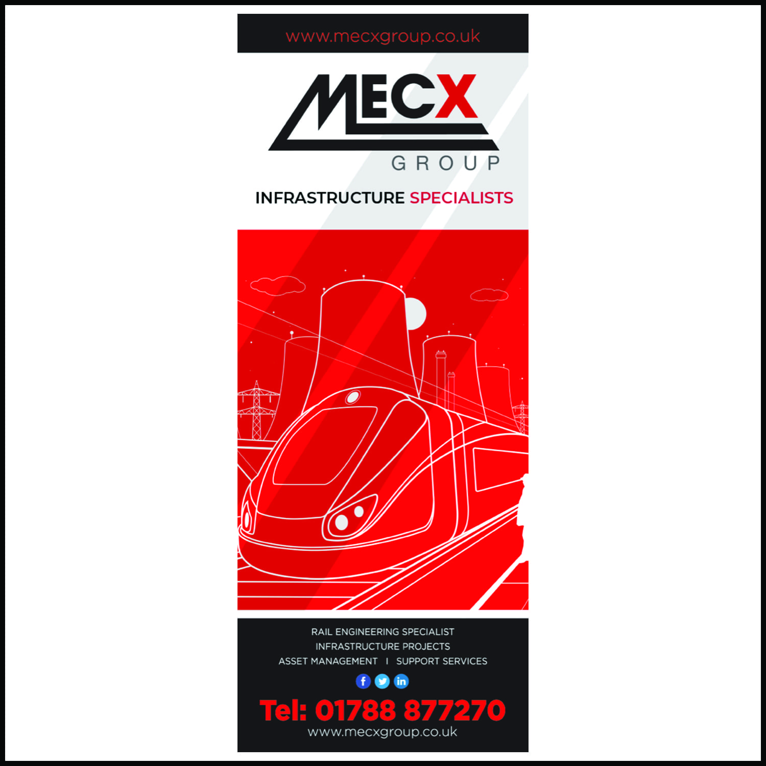 Rail Exhibition Banner