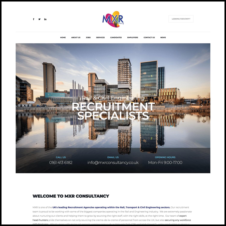 Construction Recruitment Website