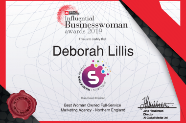 AI 2019 Influential Businesswoman Digital Certificate